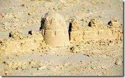 3 half moon sand castle