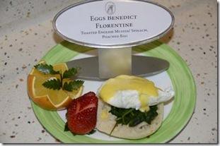 eggs bene florentine