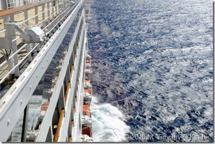 Maasdam underway at sea
