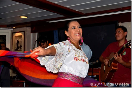 Galapagos Eduacorian dancer Lindblad National Geographic Endeavour