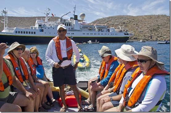 Lindblad Endeavour kayaking Galapagos-1