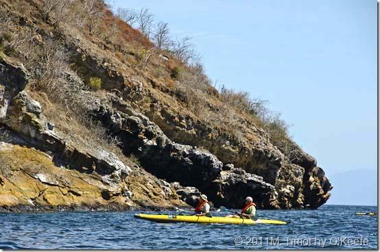 Lindblad Endeavour kayaking Galapagos-2