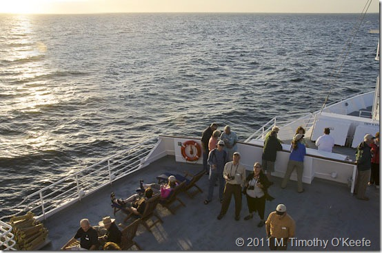 Lindblad Endeavour sunset-2