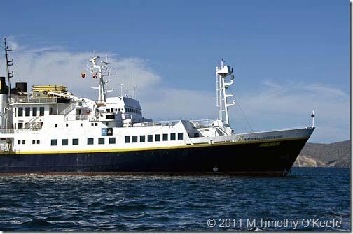 Puerto Egas Lindblad Endeavour