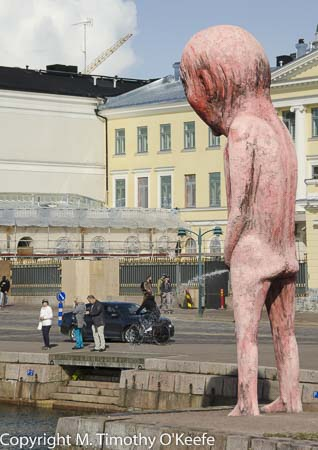 Helsinki Finland Bad Bad Boy statue