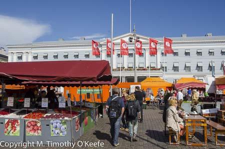 Helsinki Finland Outdoor Summer Market