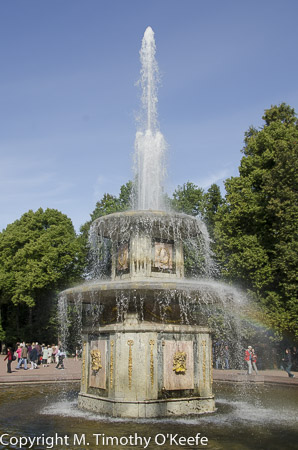 Lower Gardens fountain, Peterhof, St. Petersburg, Russia