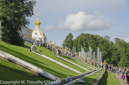 Peterhof Grand Cascade, St. Petersburg, Russia