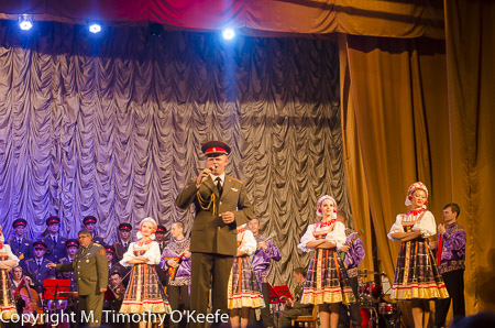 Song and Dance Ensemble of the Russian Army, St Petersburg