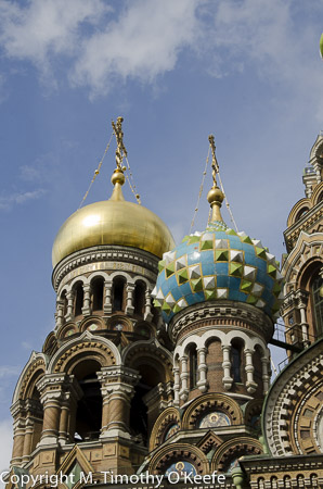 Church on the Spilled Blood St Petersburg Russia