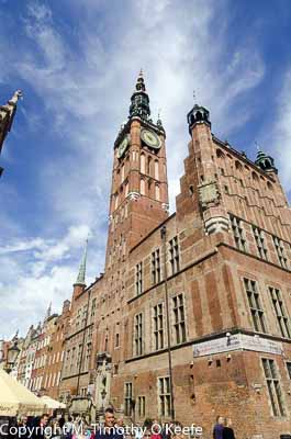 Town Hall Old City, Gdansk, Poland