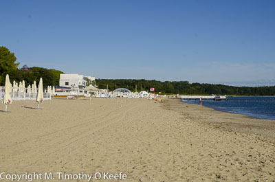 Beach at Sopot Poland Baltic Sea