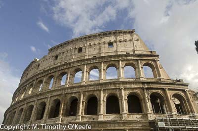Colleseum of Rome exterior