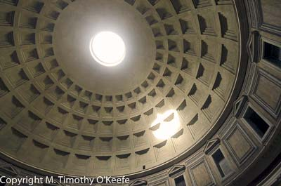 Pantheon is the the best preserved ancient Roman building