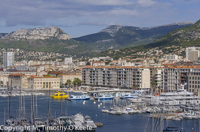 Toulon France Harbor and Marina